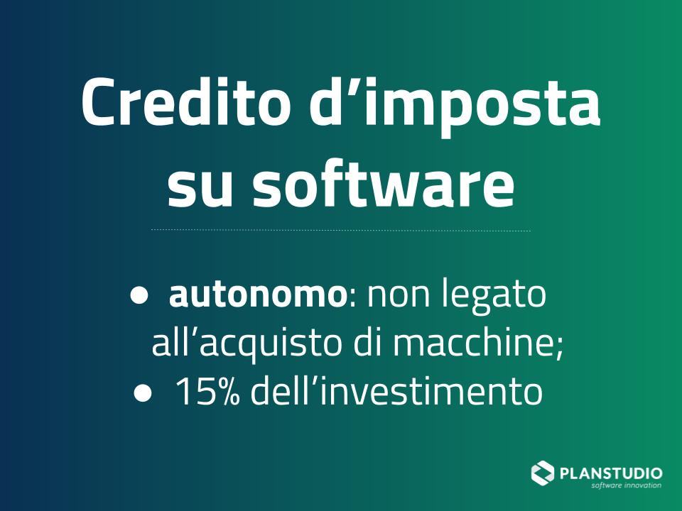2020_CreditoDimposta_Software