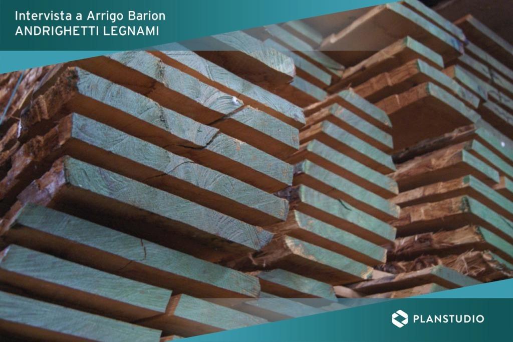 Andrighetti Legnami per Planstudio i trend del legno