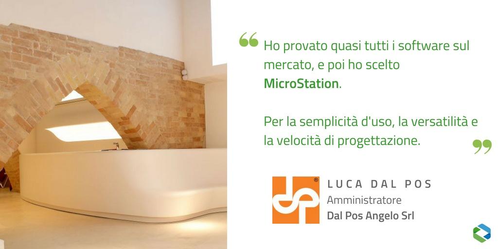 Augeo Art Space progettato da Dal Pos con MicroStation per arredi su misura