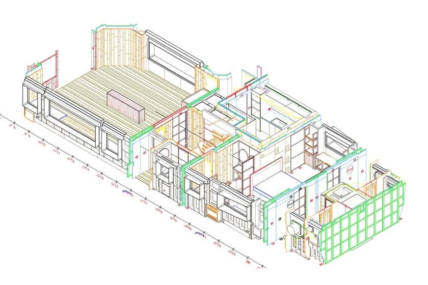 Progettazione e ingegnerizzazione arredo yacht con Progenio e Microstation