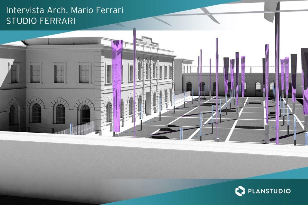 BARI MANIFATTURA TABACCHI_ Progetto 3D con MicroStation studio architettura ferrari