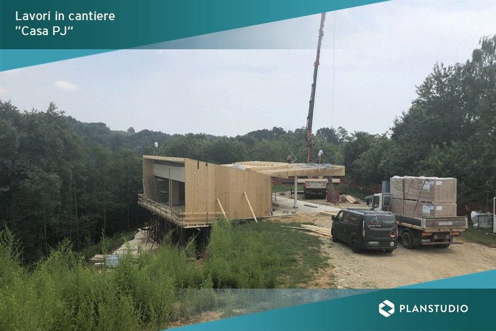 Cantiere progetto Casa PJ con MicroStation