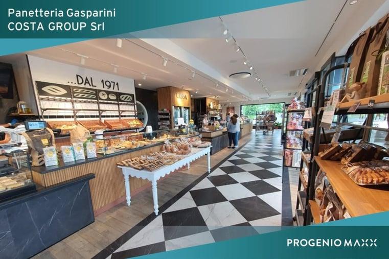 Progenio per la Panetteria Gasparini - progetto di Costa Group