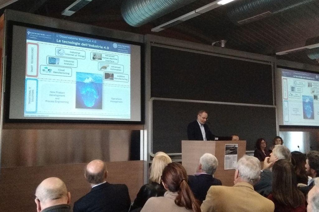 Da industria 4.0 a nautica 4.0 - gli osservatori digital innovations a italian yacht design conference