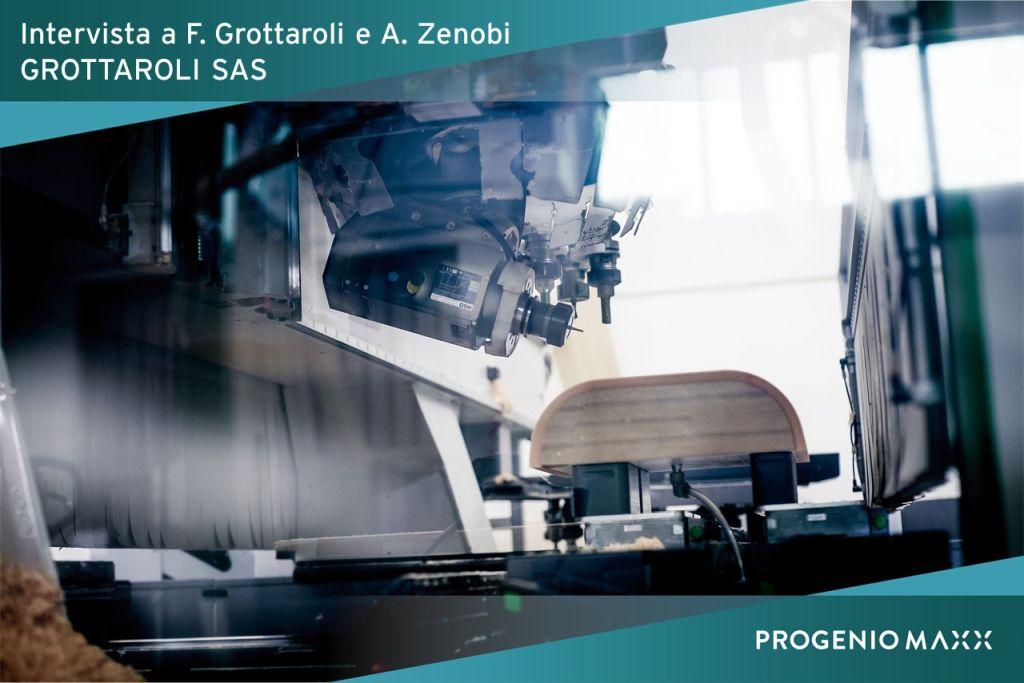 lavorazione a 5 assi Grottaroli - passaggio in produzione con Progenio
