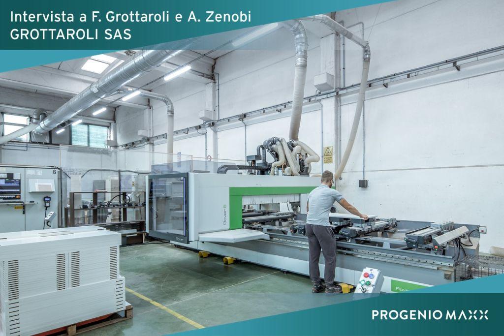 Produzione CNC CAM - grottaroli case history progenio