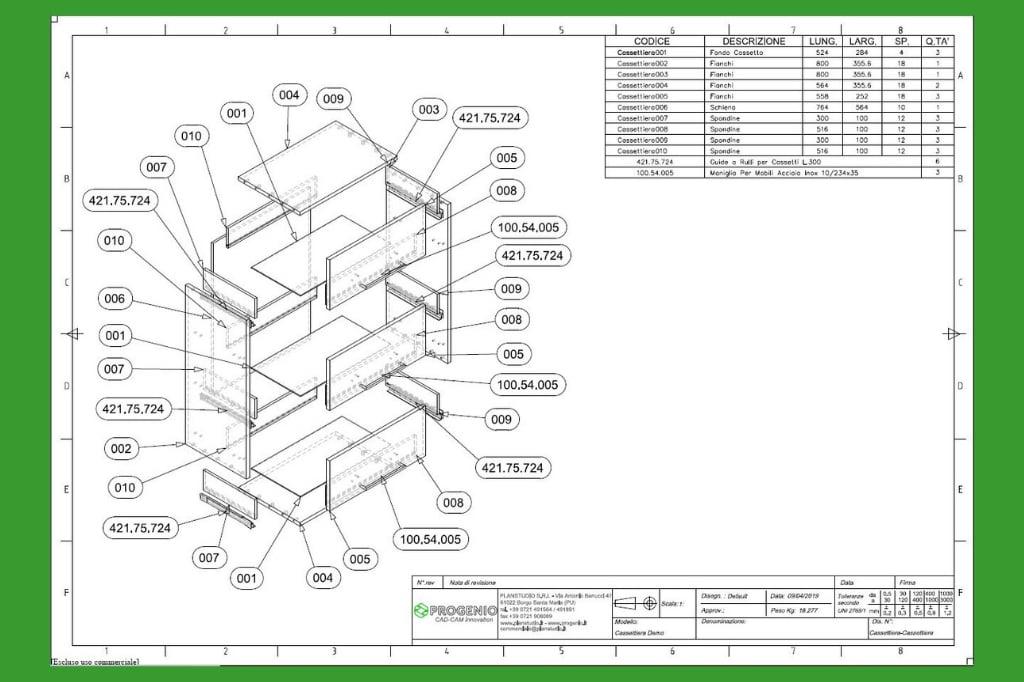 Elemento di ferramenta in MicroStation