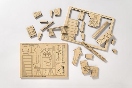 Il legno dalla natura alle cose 2018 Bergamo Alta Planstudio_ Puzzle Achille Castiglioni