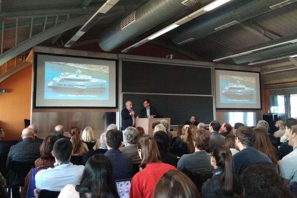 Luca Antivari Bassani Wally a Italian Yacht Design Conference