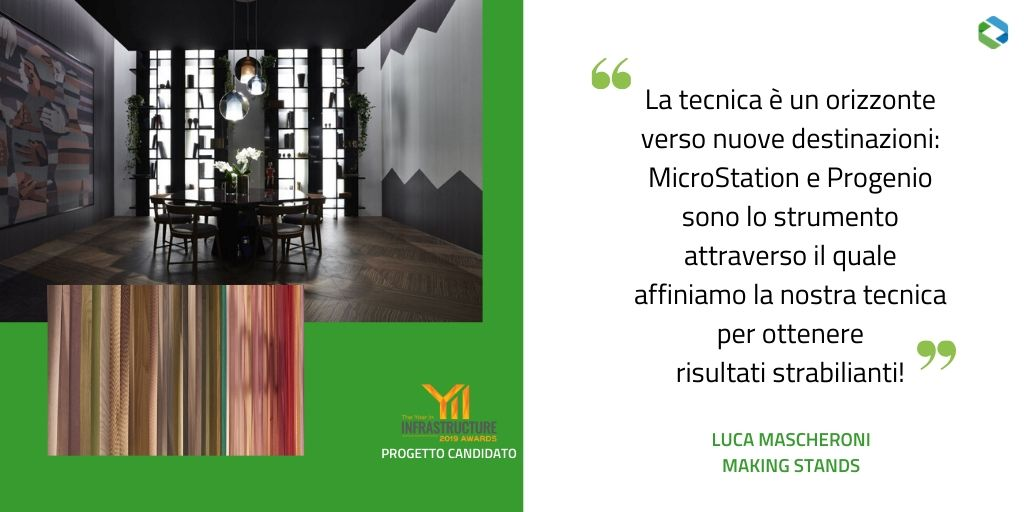 Making Stands Tabu Stand Allestimenti  YII2019 MicroStation Progenio-1