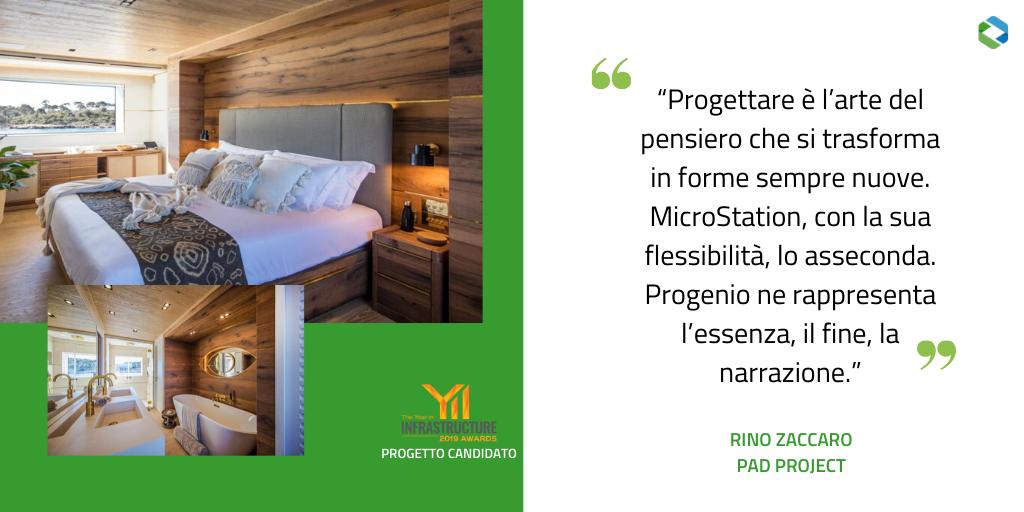 Pad project: arredo Yacht con Progenio