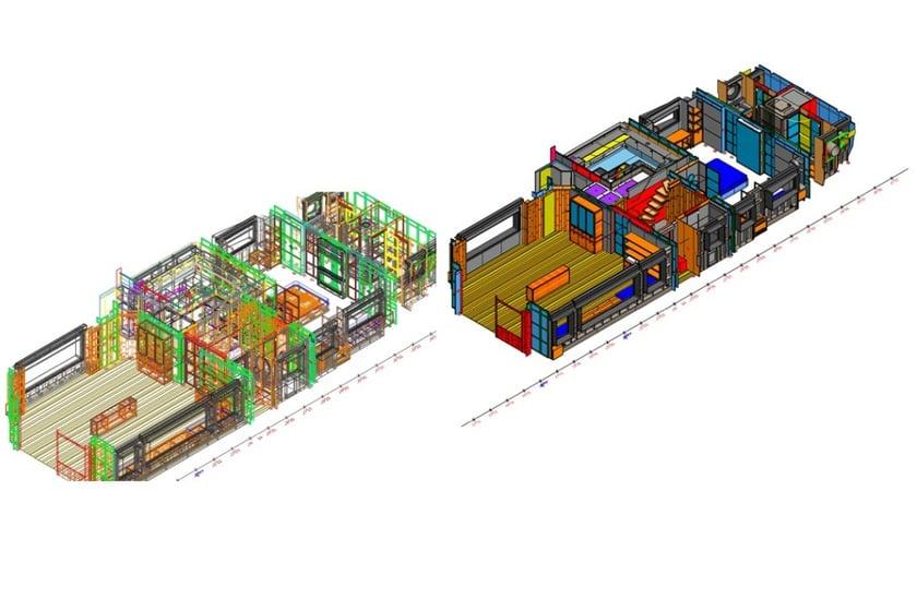 Pad Project arredi yacht con MicroStation e progenio