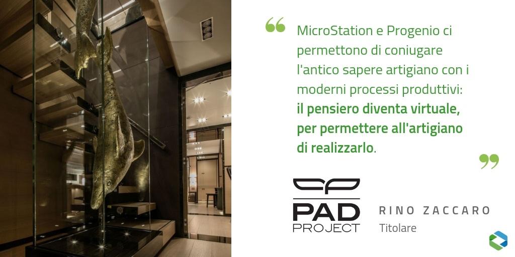 Pad Project citazione arredi nautici M Y Nauta Air