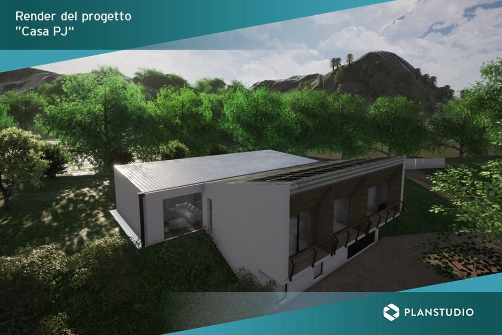 Progetto Casa PJ con MicroStation