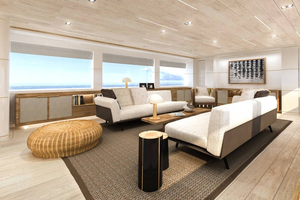 Rendering Salone Yacht con MicroStation