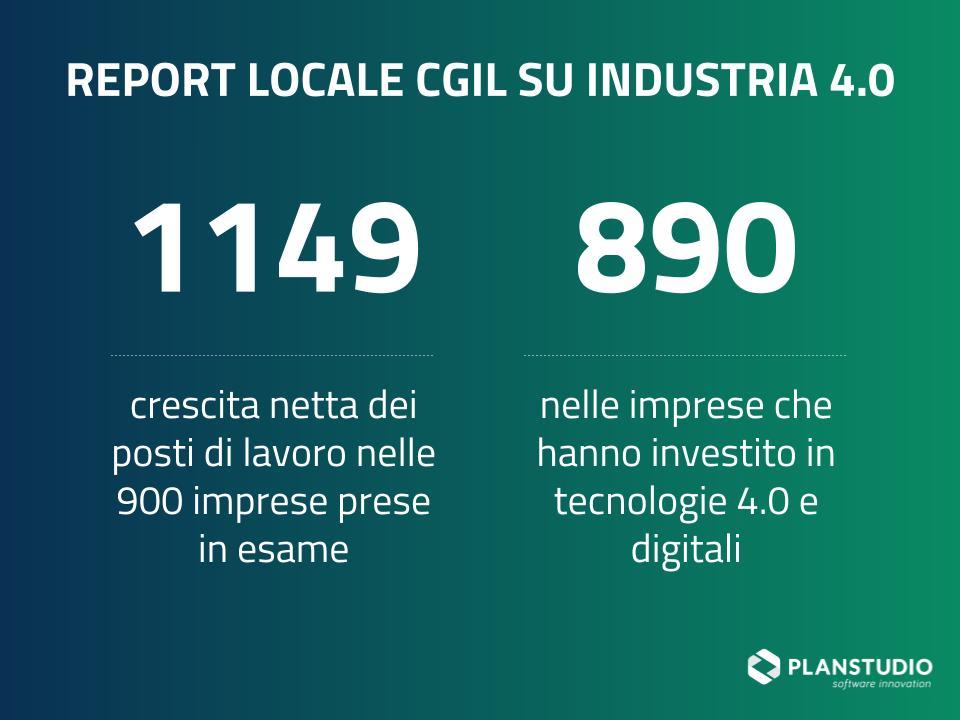 Report Cgil su Industria 4.0 per il 2019