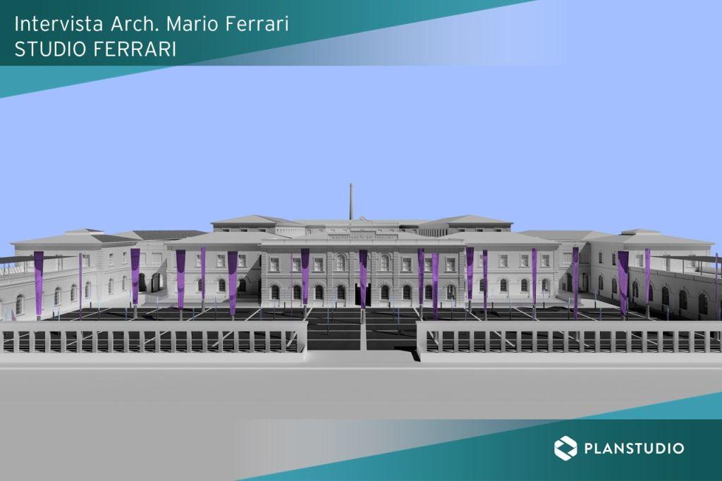 Studio Ferrari con MicroStation progetto manifattura ARCH FERRARI ILIOSBOOKS- intervista