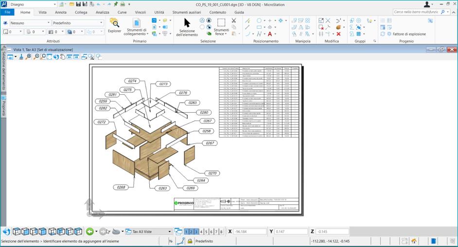 gestione tavole e documenti tecnici con progenio maxx