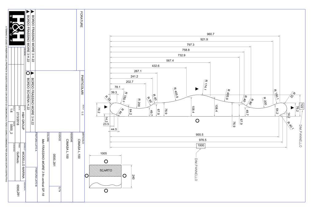 camerette modello marina - un esempio di progetto realizzato con Progenio e Microstation