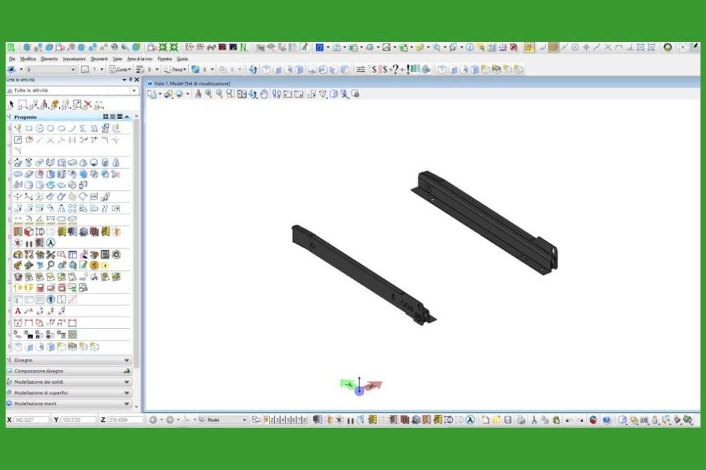 gestire ferramenta in MicroStation e Progenio