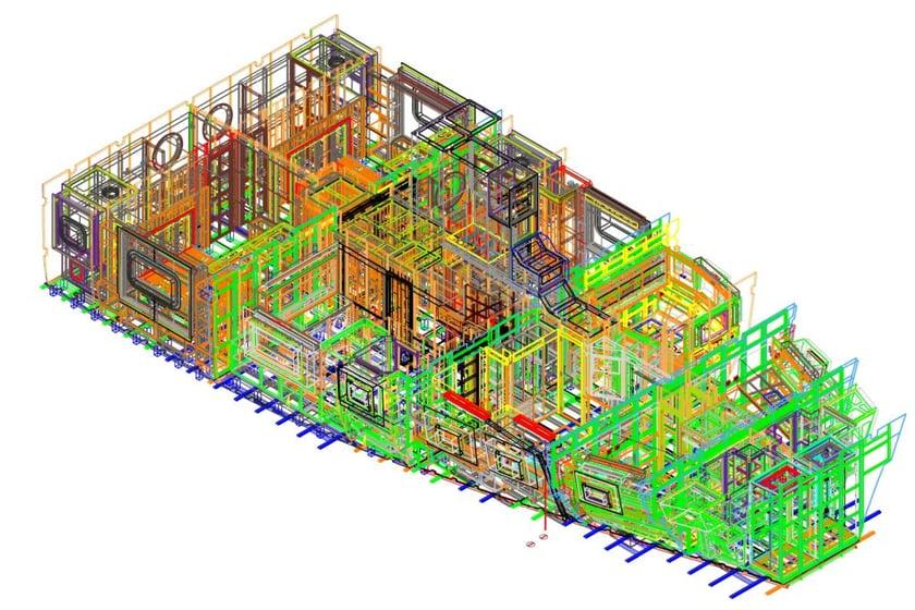 progettazione e ingegnerizzazione arredi yacht con Microstation e Progenio